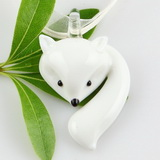 lampwork glass pendants - cute animals