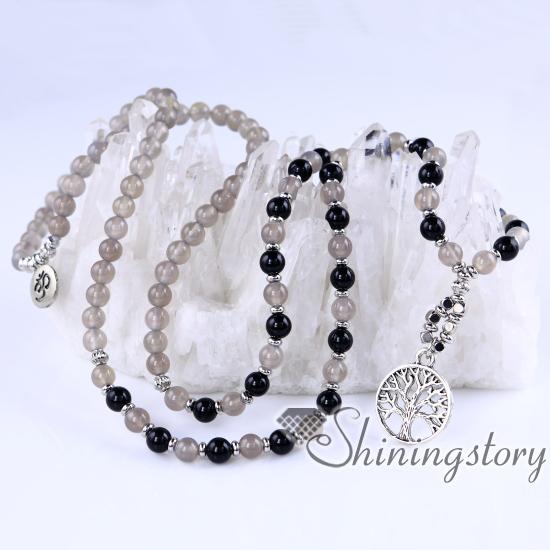 108 mala bead necklace tree of life pendant ohm jewelry prayer beads 108 mala bead necklace tree of life pendant ohm jewelry prayer beads for sale 108 prayer aloadofball Choice Image