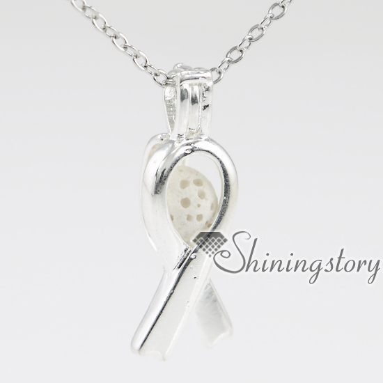 awareness ribbon charm lockets oil diffuser necklace essential oil diffuser pendant small locket necklace essential oil jewelry