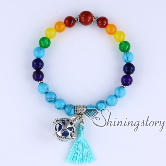beaded charm bracelets aromatherapy bracelets 7 chakra balancing jewelry the tree of life jewellery prayer beads for sale