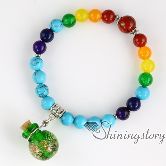 beaded charm bracelets essential oil bracelet diffuser 7 chakra balancing jewelry tree of life jewelry prayer beads for sale