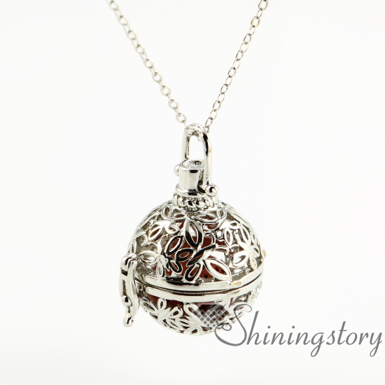 butterfly openwork diffuser necklace diffuser pendants