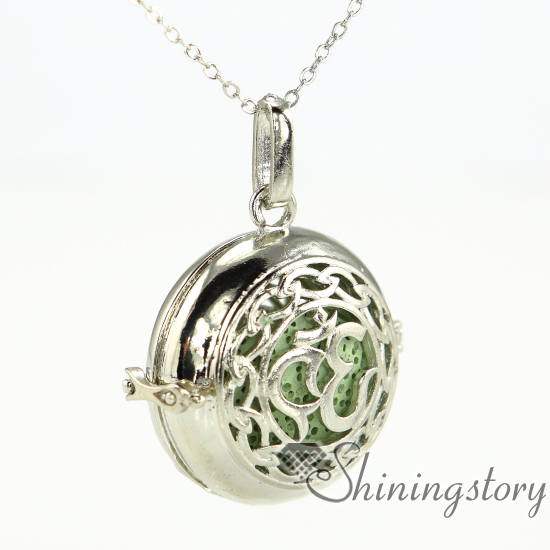 heart locket necklace heart locket pendant open locket oil diffuser locket