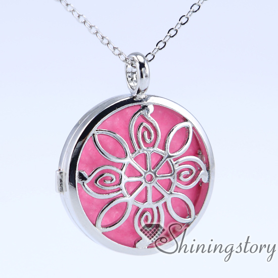 lotus charm lockets essential oil pendant oil diffuser necklace locket jewelry aromatherapy jewelry small locket necklace