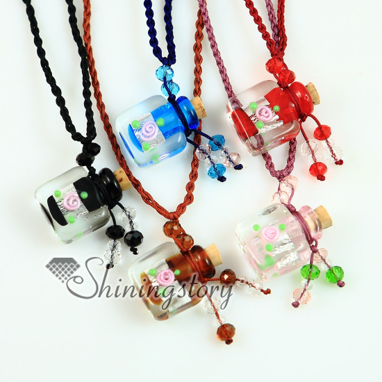 pendant necklace glass Murano