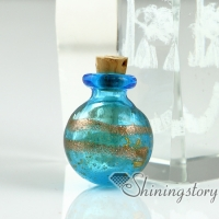 miniature glass bottles
