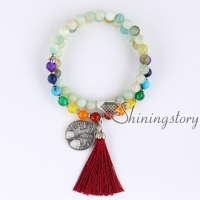 54 mala bracelet 7 chakra bracelets meditation beads buddhist prayer bracelet yoga mala yoga mala tibetan prayer beads