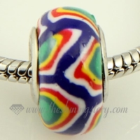 Polymer clay big hole beads