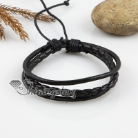 adjustable leather bracelets for men and women unisex