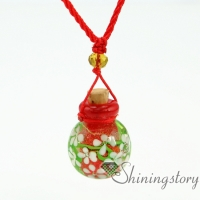aromatherapy jewelry wholesale diffuser bracelet aroma necklace glass bottle charm