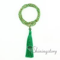 beaded yoga jewelry menditation jewelry beads prayer necklace bracelet mala beads bracelet non stretchable tassel necklace