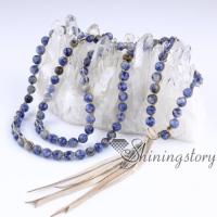 bohemian necklaces 108 mala bead necklace with tassel buddhist prayer beads mala beads wholesale meditation jewelry yoga spiritual jewelry