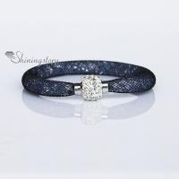 crystal rhinestone stardust bracelet star dust bracelets magnetic buckle wrap bracelets blingbling wristbands bracelets