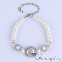 cultured freshwater pearl bracelet crystal and pearl bracelets gypsy jewelry bohemian jewelry wholesale