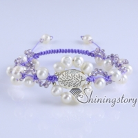 cultured freshwater pearl bracelet tree of life bracelet bohemian jewelry wholesale boho jewelry