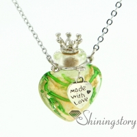 diffuser pendants wholesale perfume necklace aromatherapy pendant necklace vial