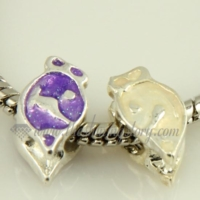 dolphin enamel european charms fit for bracelets