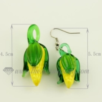 fruits venetian murano glass pendants and earrings jewelry
