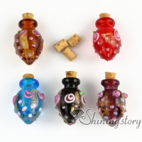 glass vial for pendant necklace cremation urns for pets pet remembrance jewelry