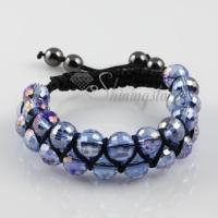 macrame armband crystal beaded bracelets jewellery