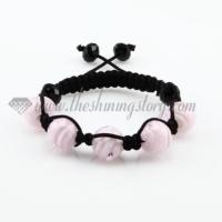 macrame lines lampwork murano glass bracelets jewelry armband
