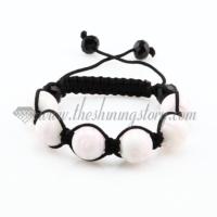macrame swirled lampwork murano glass bracelets jewelry armband