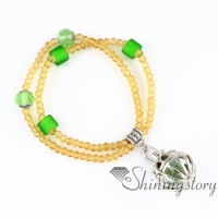 openwork beaded bracelets charm bracelets essential oil jewelry essential bracelet essential oils bracelet quartz metal volcanic stone