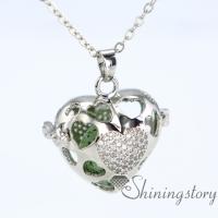 silver locket necklace essential oil diffuser pendant birthstone locket necklace small silver locket
