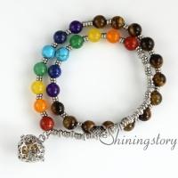 chakra bracelet seven chakra healing bracelet locket bracelet essential oil diffuser jewelry meditation bracelet faith bracelet