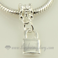 silver plated european dangle charms fit for bracelets