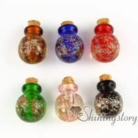 small glass bottles for pendant necklaces memorial jewelry for ashes dog ashes jewelry