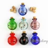 small glass vials wholesale urn charms pet cremation keepsake jewelry ashes