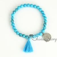 tassel bracelets mala bracelet lucky bracelet yoga inspired jewelry healing gemstone bracelets lucky bracelet for womens