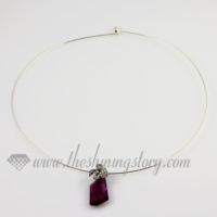 thin steel wire necklaces cord for pendants jewelry