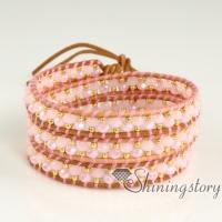 wrap bracelets wholesale leather wristbands wrap around beaded necklace beaded bracelets leather name bracelets