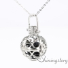 ball locket pendant diffuser pendant long locket necklace aromatherapy diffuser locket metal volcanic stone openwork necklaces design B