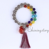 chakra bracelet with tassel aromatherapy bracelet 7 chakra healing jewelry tree of life locket bracelet chinese prayer beads design G