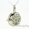 heart locket necklace heart locket pendant open locket oil diffuser locket design A