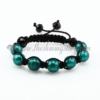 macrame venetian glass beads bracelets jewelry armband green
