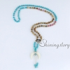 mala bracelet crescent moon necklace 108 prayer beads mala beads wholesale prayer bead necklace design D