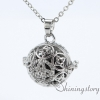 silver locket aroma jewelry locket necklace for girl cool lockets necklaces design A