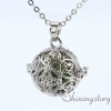 silver locket aroma jewelry locket necklace for girl cool lockets necklaces design B