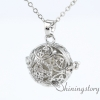 silver locket aroma jewelry locket necklace for girl cool lockets necklaces design C