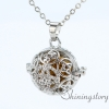 silver locket aroma jewelry locket necklace for girl cool lockets necklaces design D