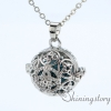 silver locket aroma jewelry locket necklace for girl cool lockets necklaces design E