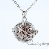 silver locket aroma jewelry locket necklace for girl cool lockets necklaces design F