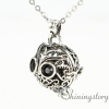 silver locket charms for lockets buy lockets online silver diffuser necklace design B