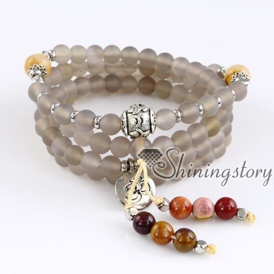108 mala bracelet tree of life buddhist prayer beads bracelet spiritual  healing jewelry meditation jewelry meditation jewelry
