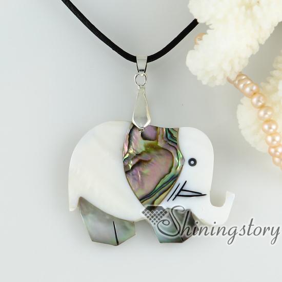 Abalone sea shell pendants elephant patchwork necklaces mop abalone sea shell pendants elephant patchwork necklaces mop jewellery design a aloadofball Choice Image