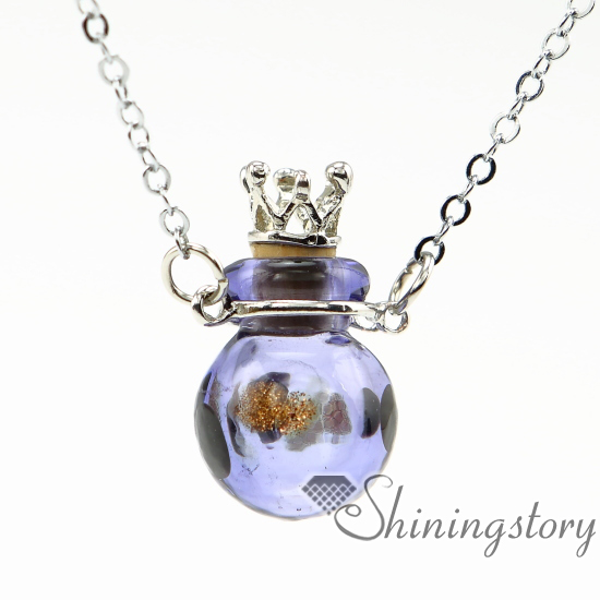 oil diffuser necklaces essential pendant bottles jewelry necklace bottle chain miniature locket ball with glass wholesale vintage